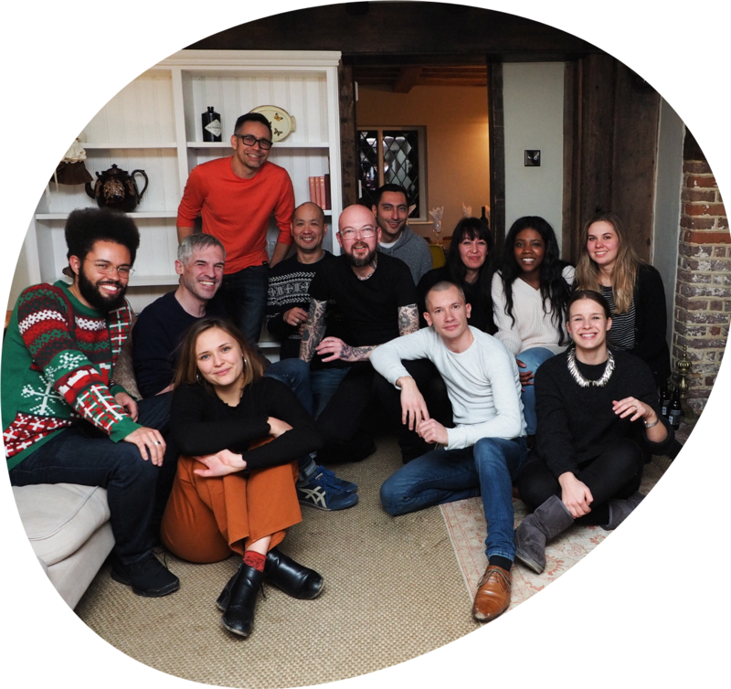 Pixeled Eggs Team Photo