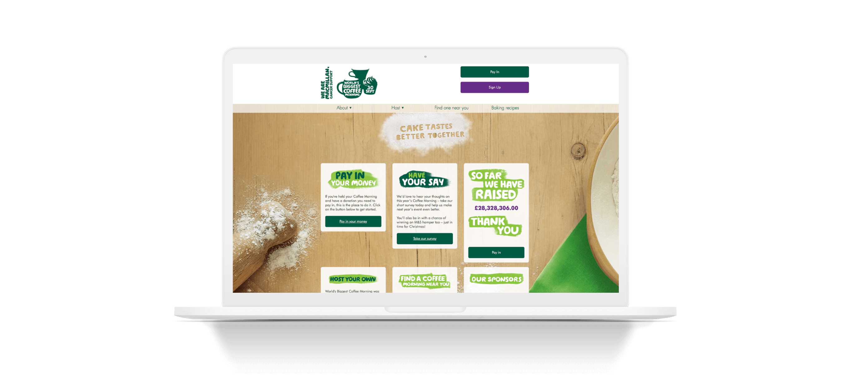 Coffee Morning – Macmillan Cancer Support