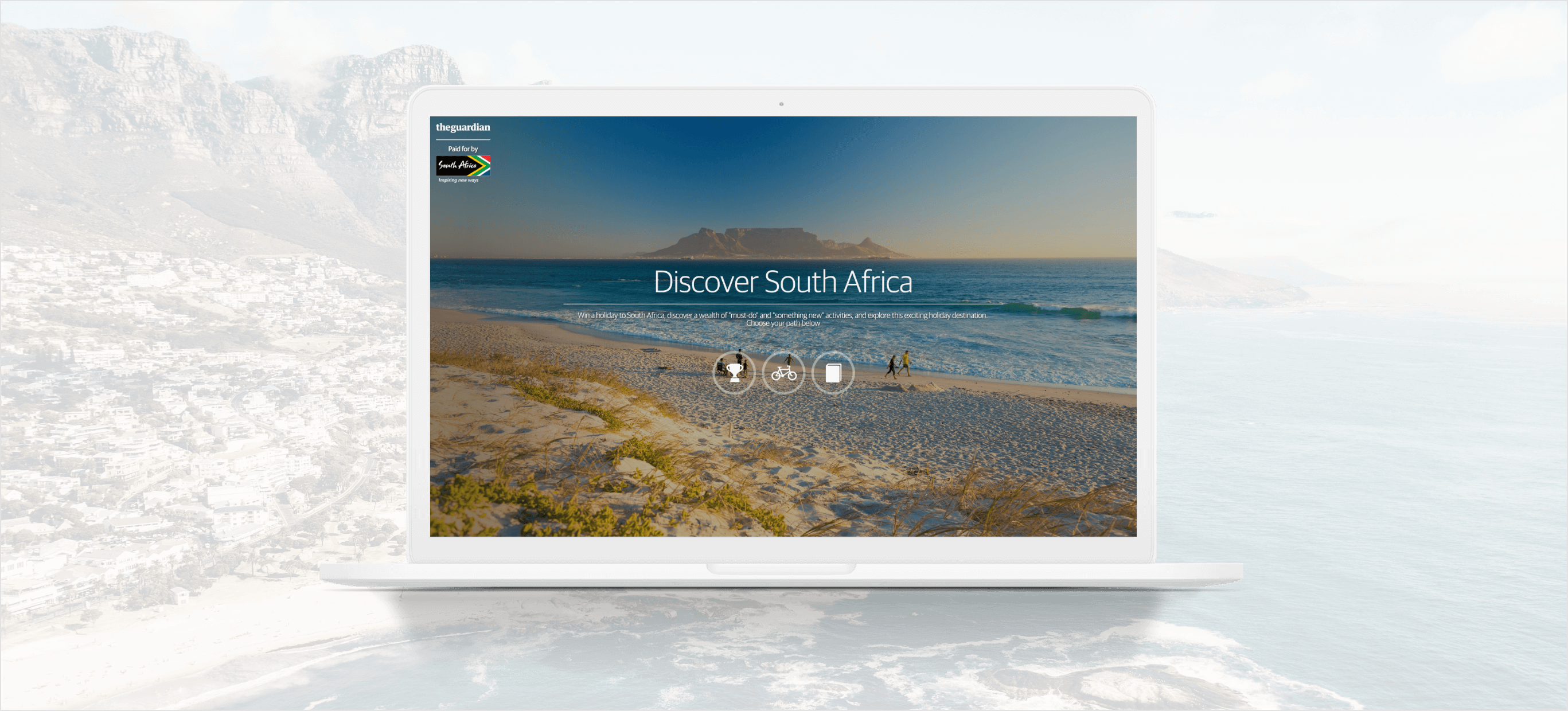 Discover South Africa – The Guardian - hero image