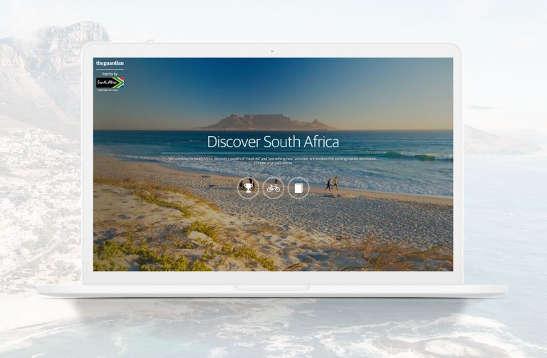Discover South Africa for The Guardian - Creating the awe of South Africa for Guardian readers