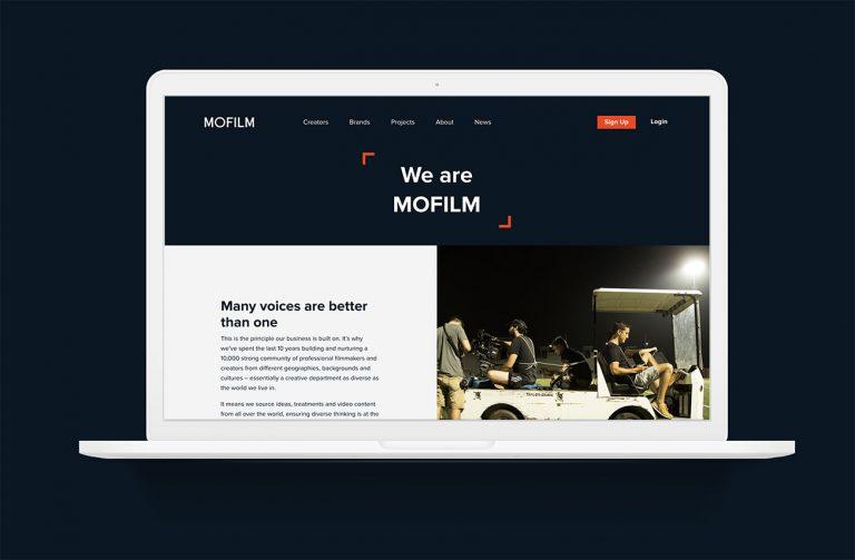 Mofilm - Creating a global platform for a filmmaking community