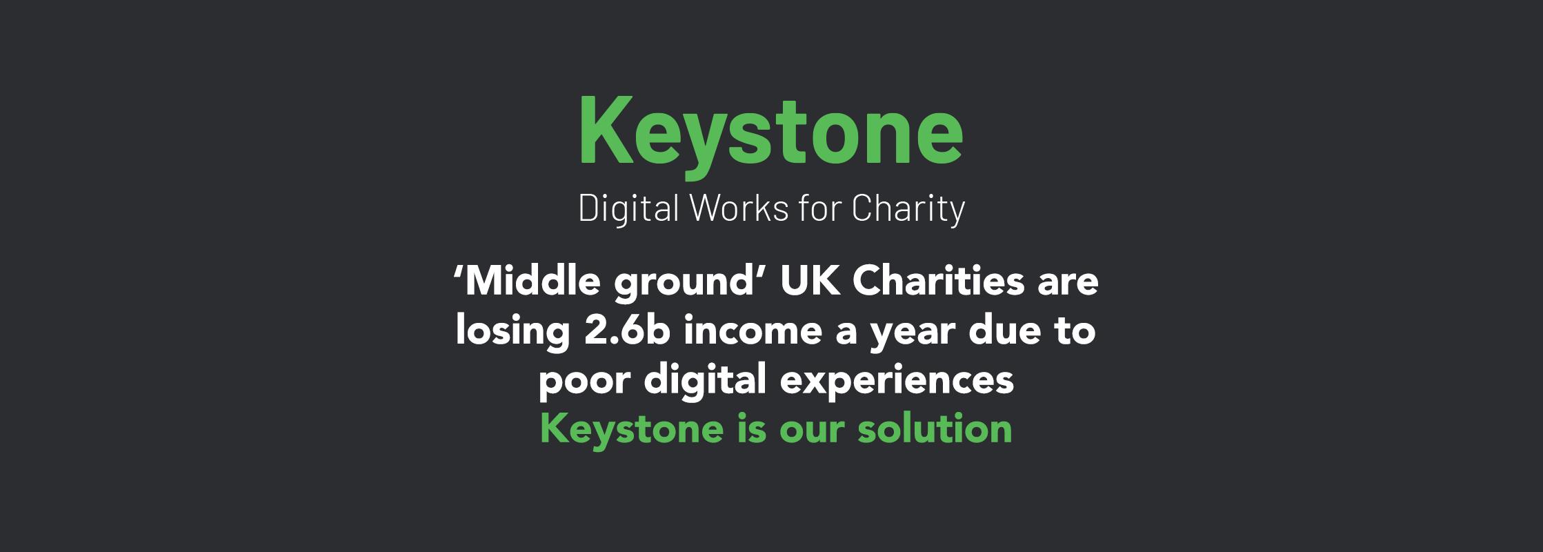 Keystone – Digital Works for Charity - hero image