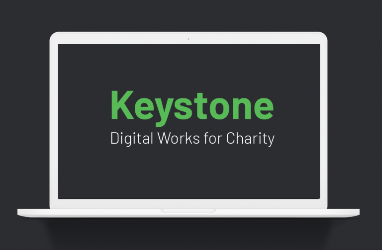 Keystone for Smaller Charities - Creating a great user experience and maximising income for charities
